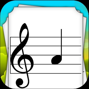 Kids Music Note Flashcards